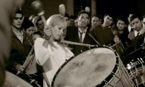 Geraldine Chaplin in Carlos Saura's Peppermint Frappe (1967)