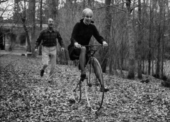 Alfredo Mayo, Geraldine Chaplin in Peppermint Frappe (1967)