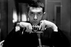 A young Stanley Kubrick, cameraman in training