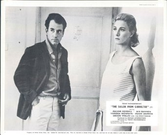 Ian Bannen and Vanessa Redgrave in The Sailor from Gibraltar (1967)