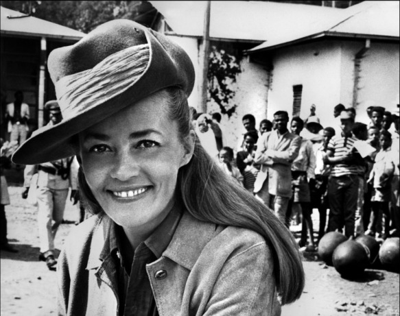 Jeanne Moreau on the set of The Sailor from Gibraltar (1967)