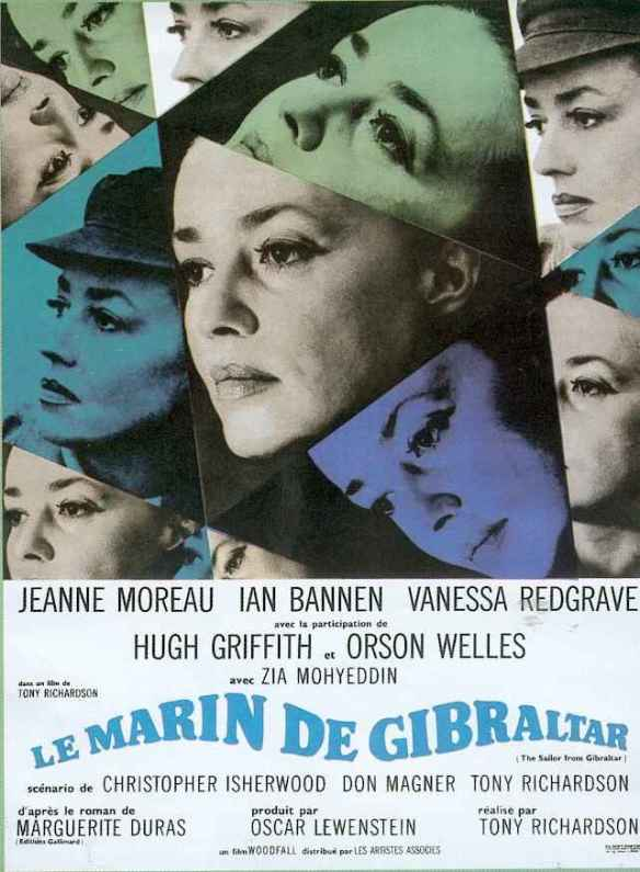 sailor from Gibraltar (fra) poster