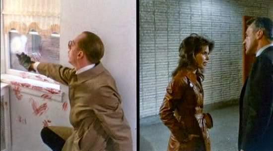 A sample of Brian De Palma's split screen process in Sisters (1973)