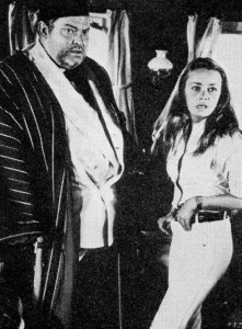 Orson Welles and Jeanne Moreau in The Sailor from Gibraltar (1967)