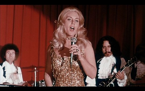 Tiffany Bolling as the lounge singer from hell in Wicked, Wicked (1973)