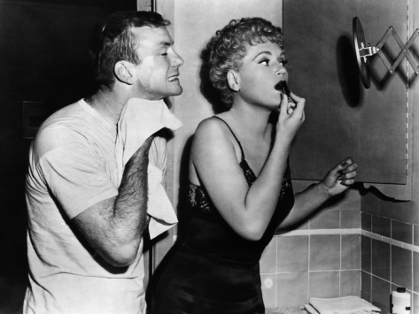 Aldo Ray & Judy Holliday in The Marrying Kind (1952)