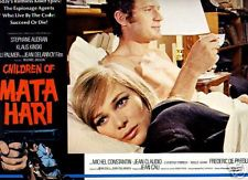 Catherine Jacobsen & Frederic de Pasquale are NOT amorous fellow agents in the spy thriller, La peau de torpedo (1970) aka Only the Cool