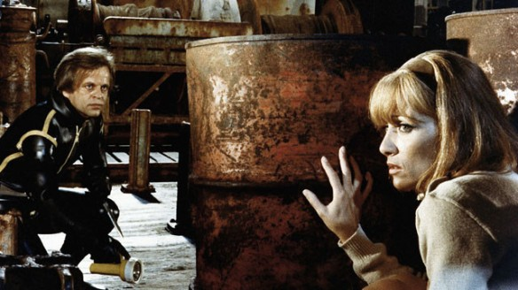 Klaus Kinski & Stephane Audran in Le peau de torpedo (1970)
