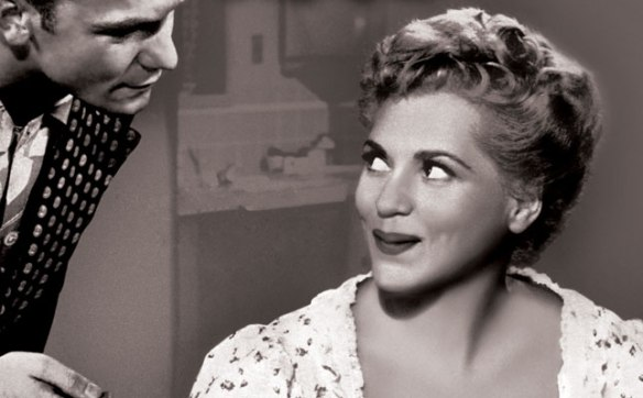 Aldo Ray and Judy Holliday in The Marrying Kind (1952)