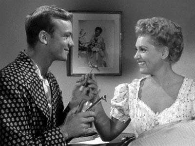 Aldo Ray & Judy Holliday in George Cukor's The Marrying Kind (1952)