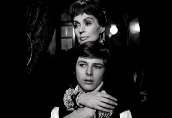 Lilii Palmer and her crazy, mixed-up son John Moulder-Brown in The House That Screamed (1969)