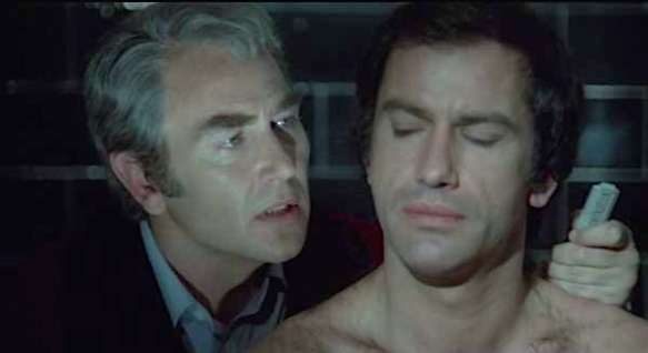 Javier Escriva (left) and Simon Andreu in Forbidden Love Game (1975), directed by Eloy de la Iglesia