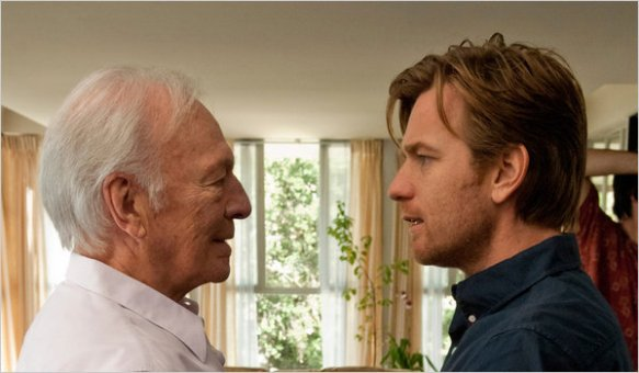 Christopher Plummer in his Oscar-winning Best Supporting Actor role with Ewan McGregor (right) in Beginners (2010)