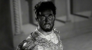 Pierre Brasseur as Othello in a scene from Marcel Carne's Children of Paradise (1945)