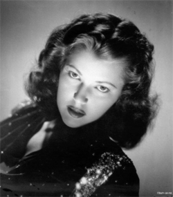 Diana Barrymore, daughter of John Barrymore