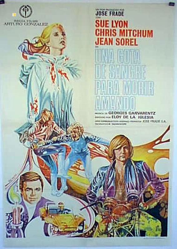 Murder in a Blue World aka Clockwork Terror (1973)