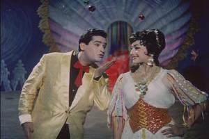 Shammi Kapoor and Helen in Junglee (1961)