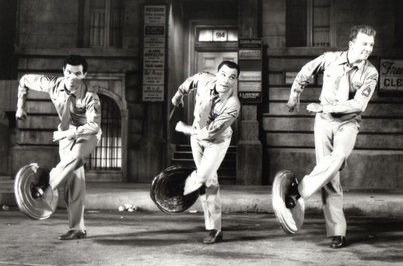 From the Left: Michael Kidd, Gene Kelly and Dan Dailey in It's Always Fair Weather