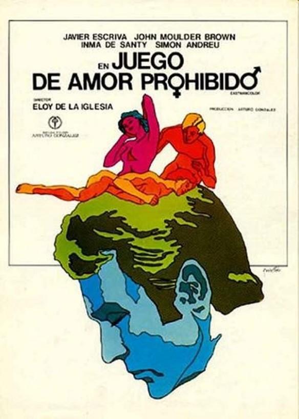 Juego de amor prohibido poster