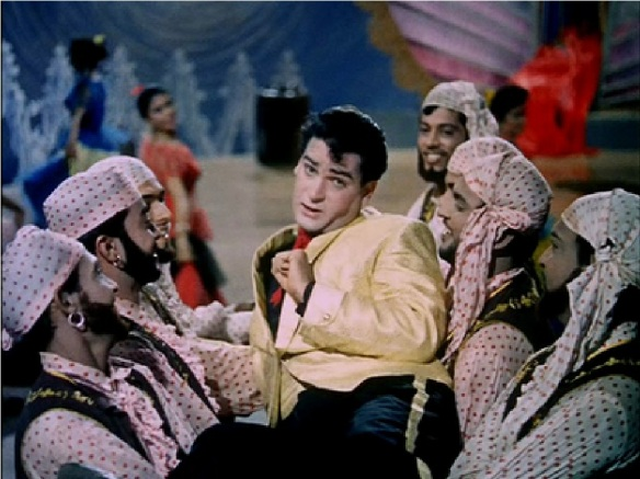 Shammi Kapoor in the Bollywood musical Junglee (1961)
