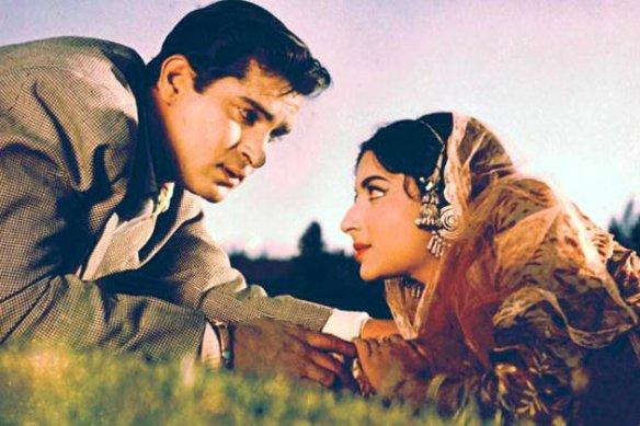 Shammi Kapoor and Saira Banu in Junglee (1961)