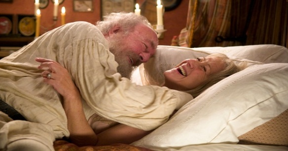 Christopher Plummer and Helen Mirren in The Last Station