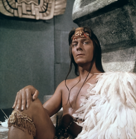 Christopher Plummer in the 1969 film version of The Royal Hunt of the Sun