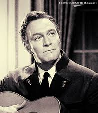 Christopher Plummer as Captain Von Trapp in The Sound of Music