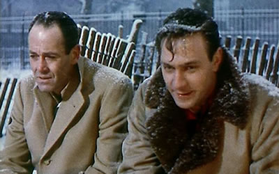 Henry Fonda and Christopher Plummer (in his feature film debut)  - Stage Struck (1958)