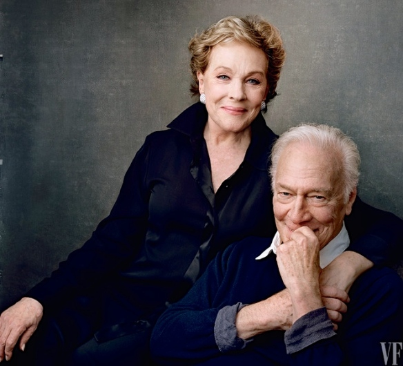 Julie Andrews and Christopher Plummer, 2015 (photo courtesy of Vanity Fair)