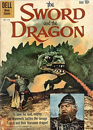 The Dell comic The Sword and the Dragon