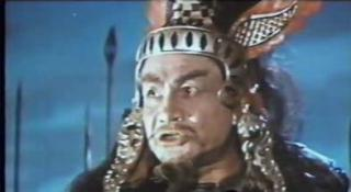 The evil Kalin (played by Shukur Burkhanov) in Ilya Muromets (1956, aka The Sword and the Dragon)