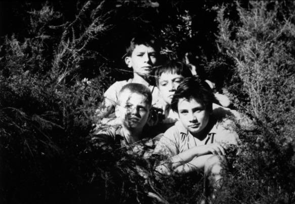 A scene from Francois Truffaut's Les Mistons (1957)