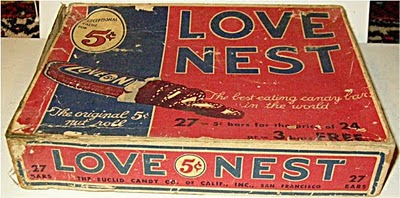 The Love Nest candy bars don't look so appetizing when they are being prepared on the assembly line in Candy is a Health Food (1927)