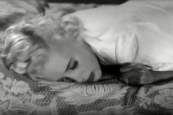 Beverly Michaels in Wicked Woman (1953).