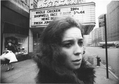 Amy Vane as the hapless protagonist of Paul Bartel's The Secret Cinema (1968)