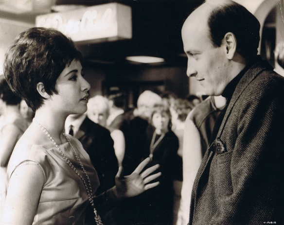 Helen Shapiro and Richard Lester on the set of It's Trad, Dad! (1962)