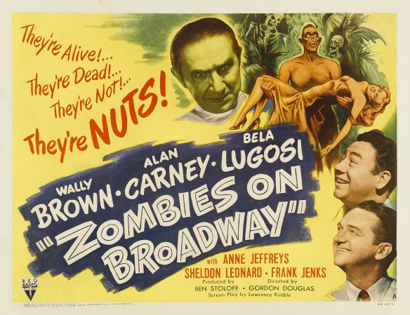 Poster - Zombies on Broadway_02