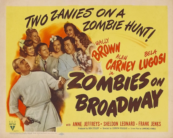 Poster - Zombies on Broadway_03