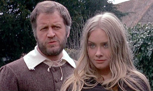 Linda Hayden as Angel Blake, the Devil's tool in The Blood on Satan's Claw
