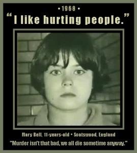 Mary Bell teenage murderess