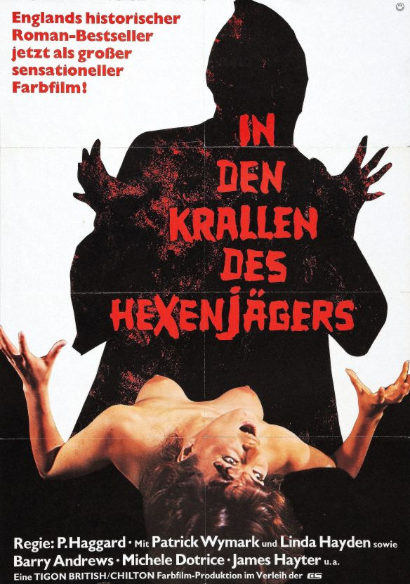 German poster of The Blood on Satan's Claw