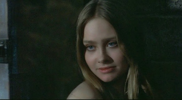 The seductive Linda Hayden in The Blood on Satan's Claw (1971).