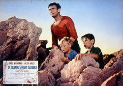 A scene from Gillo Pontecorvo's The Wide Blue Road aka La grande strada assurra (1957)