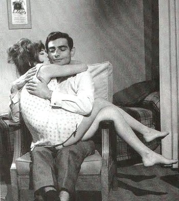 Anna Gaylor and Charles Denner star in Alain Jessua's Life Upside Down (1964).