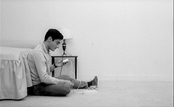 Charles Denner retreats from the world in Life Upside Down (1964), directed by Alain Jessua