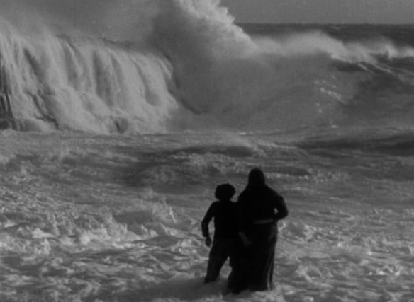 A scene from Robert J. Flaherty's Man of Aran (1934)