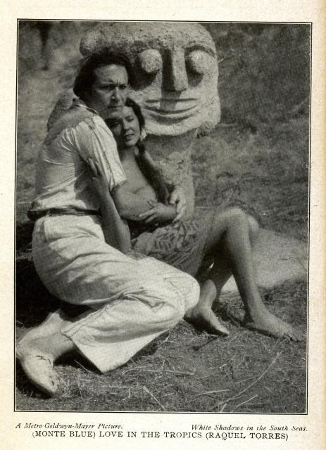 Monte Blue and Raquel Torres in White Shadows in the South Seas (1928)