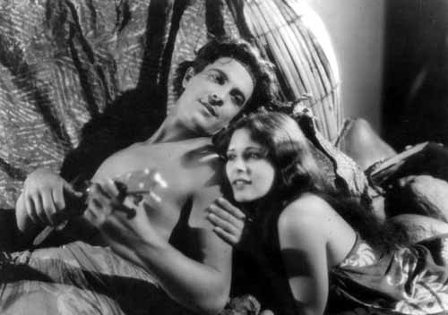 Ramon Novarro and Dorothy Janis (aka Dorothy King) star in The Pagan (1929).
