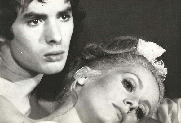 Pierre Clementi & Catherine Deneuve in Benjamin (1968).